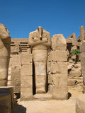 Karnak Temple. Complex in Luxor royalty free stock photo