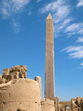Karnak Temple. Complex in Luxor stock photography