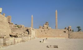 Karnak Temple Complex . Royalty Free Stock Images