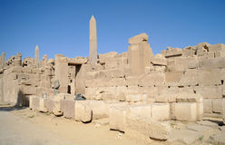 Karnak Temple Complex . Stock Photography