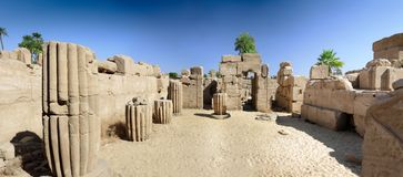 The Karnak Temple Complex, Luxor, Egypt. Stock Photography
