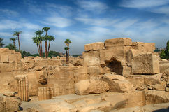 Karnak Temple Complex in Luxor, Egypt Royalty Free Stock Photo