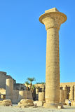Karnak temple, Egypt. Column in big Karnak temple in Egypt stock photography