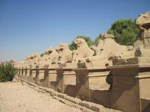 Karnak Temple in Egypt. Karnak Temple in Thebes (Modern Luxor), Egypt Stock Image