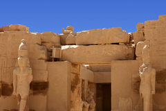 Karnak temple in Egypt Stock Images