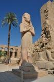 Karnak temple in egypt Royalty Free Stock Photo