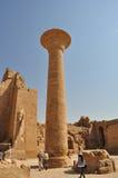 Karnak temple in egypt Royalty Free Stock Photos