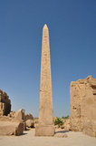 Karnak temple in egypt Stock Image
