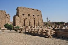 Karnak temple in egypt Stock Photos