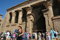 Karnak temple in egypt Stock Images