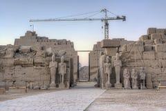 Karnak temple in Luxor Royalty Free Stock Image