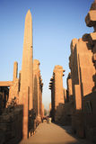 Karnak temple luxor Stock Image
