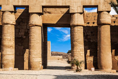 Karnak Temple in Luxor Stock Photography
