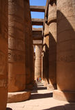 Karnak temple in Luxor, Egypt Royalty Free Stock Photos