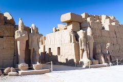 Karnak Temple , Luxor, Egypt. Royalty Free Stock Photography