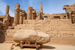 Karnak temple. Luxor, Egypt Stock Photography