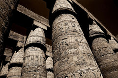 Karnak temple. The karnak temple in Luxor, Egypt royalty free stock photos