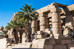 Karnak temple, Luxor, Egypt. Ancient Thebes with its Necropolis of the Karnak temple, Luxor, Egypt royalty free stock image