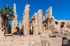 Karnak temple, Luxor, Egypt. Of the Karnak temple, Luxor, Egypt (Ancient Thebes with its Necropolis royalty free stock photography