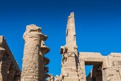 Karnak temple, Luxor, Egypt royalty free stock photos
