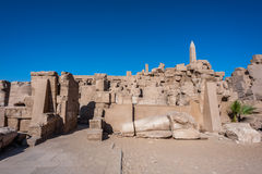 Karnak temple, Luxor, Egypt. (Ancient Thebes with its Necropolis stock images