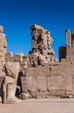 Karnak temple, Luxor, Egypt. (Ancient Thebes with its Necropolis royalty free stock photos