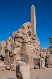 Karnak temple, Luxor, Egypt. (Ancient Thebes with its Necropolis royalty free stock photo