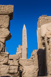 Karnak temple, Luxor, Egypt. (Ancient Thebes with its Necropolis royalty free stock images