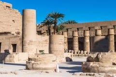 Karnak temple Royalty Free Stock Photo