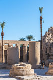 Karnak temple, Luxor, Egypt Royalty Free Stock Photos