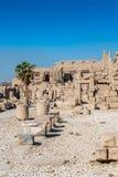 Karnak temple, Luxor, Egypt Stock Image