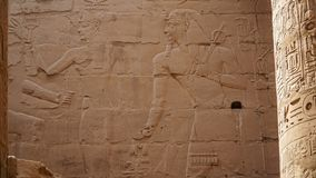 Karnak Temple in Luxor, Egypt. The Karnak Temple Complex, commonly known as Karnak, comprises a vast mix of decayed temples,. Karnak Temple in Luxor, Egypt. The royalty free stock images