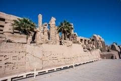 Karnak temple, Luxor, Egypt. Obelisk of the Karnak temple, Luxor, Egypt (Ancient Thebes with its Necropolis stock images