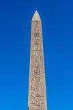 Karnak temple, Luxor, Egypt. Obelisk of the Karnak temple, Luxor, Egypt (Ancient Thebes with its Necropolis stock image