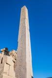 Karnak temple, Luxor, Egypt. Obelisk of the Karnak temple, Luxor, Egypt (Ancient Thebes with its Necropolis stock photos