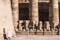 Karnak temple, Luxor, Egypt Royalty Free Stock Photography