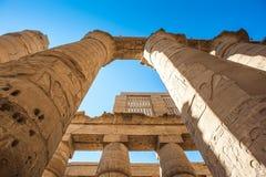 Karnak temple, Luxor, Egypt Royalty Free Stock Images