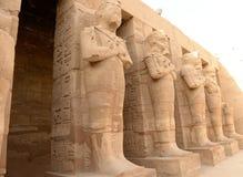 Karnak Temple in Luxor Egypt. The Karnak temple ruins in Luxor Egypt Royalty Free Stock Images