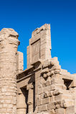 Karnak temple, Luxor, Egypt. Ruins of the Karnak temple, Luxor, Egypt (Ancient Thebes with its Necropolis stock photos