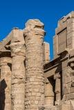 Karnak temple, Luxor, Egypt. Ruins of the Karnak temple, Luxor, Egypt (Ancient Thebes with its Necropolis stock images