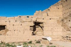 Karnak temple, Luxor, Egypt. Ruins of the Karnak temple, Luxor, Egypt (Ancient Thebes with its Necropolis stock photography