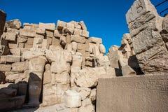 Karnak temple, Luxor, Egypt. Ruins of the Karnak temple, Luxor, Egypt (Ancient Thebes with its Necropolis royalty free stock images