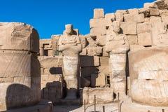 Karnak temple, Luxor, Egypt. Ruins of the Karnak temple, Luxor, Egypt (Ancient Thebes with its Necropolis royalty free stock image