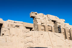 Karnak temple, Luxor, Egypt. View on the Karnak temple, Luxor, Egypt (Ancient Thebes with its Necropolis stock photography