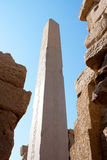 Karnak Temple Obelisk Stock Images