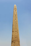 Karnak temple obelisk Stock Photography