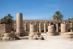 Karnak temple Stock Image