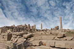 Karnak temple ruins Stock Image