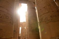 Karnak Temple in Luxor Egypt. The Karnak temple ruins in Luxor Egypt Royalty Free Stock Photo
