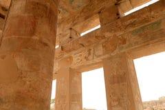Karnak Temple in Luxor Egypt. The Karnak temple ruins in Luxor Egypt Stock Photography